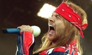 Axl Rose Tributo a Freddie Mercury