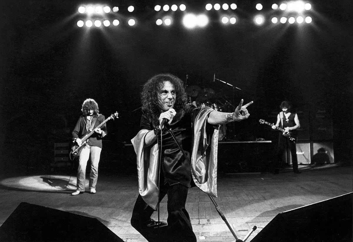 Dio com o Black Sabbath