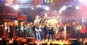 Todos os participantes do Freddie Mercury Tribute Concert