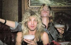 Steven e Adler (era Guns N' Roses)