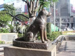 Estátua Hachiko