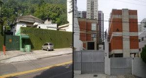 Dois dos mais tradicionais estúdios de dublagem, na esquerda o estúdio Herbert Richers e na direita o estúdio Álamo, ambos já extintos.
