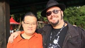 Hideo Nakata e Rodrigo Aragão no 'Mórbido Fest' em Patzcuaro - México
