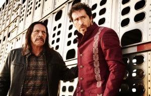 Machete (Danny Trejo) e Mendez (Demián Bichir) sendo caçados por todos
