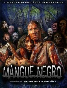 Poster de 'Mangue Negro', primeiro longa de Rodrigo Aragão