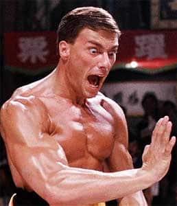 Van Damme como Frank Dux
