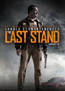 """Cartaz de divulgação de """"O Último Desafio"""" (The Last Stand)."""