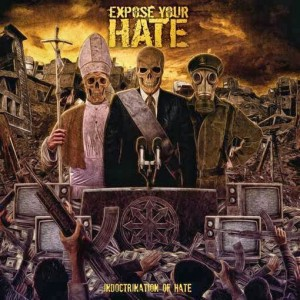 """A melhor capa dos últimos tempos: """"Indoctrination of Hate"""""""