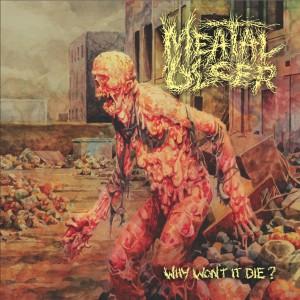 "Brutal arte da capa de ""Why Won't Die"", primeiro  'full lenght' da banda"