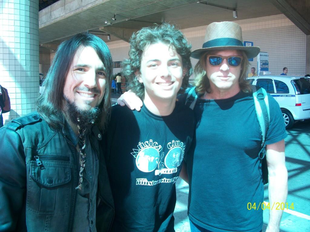 Ron Thal, Leonardo Caprara e Chris Pitman
