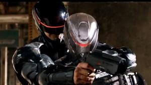 Robocop durante treinamento.