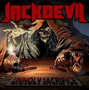 """Capa de """"Unholy Sacrifice"""", mais novo trabalho do Jackdevil"""