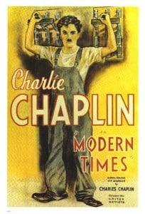 Tempos Modernos poster