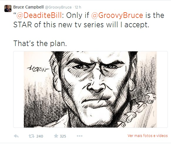 Série Evil Dead: Bruce Campbell