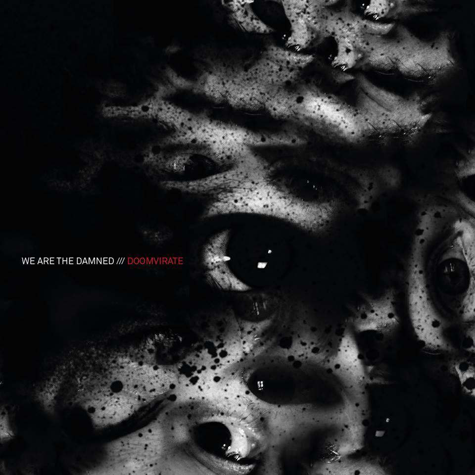 """Capa de """"Doomvirate"""", novo disco do We Are the Damned."""