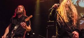 Trevor Perez (esq.) e John Tardy (dir.). Uma aula de bom Death Metal.  * foto por Edi Fortini