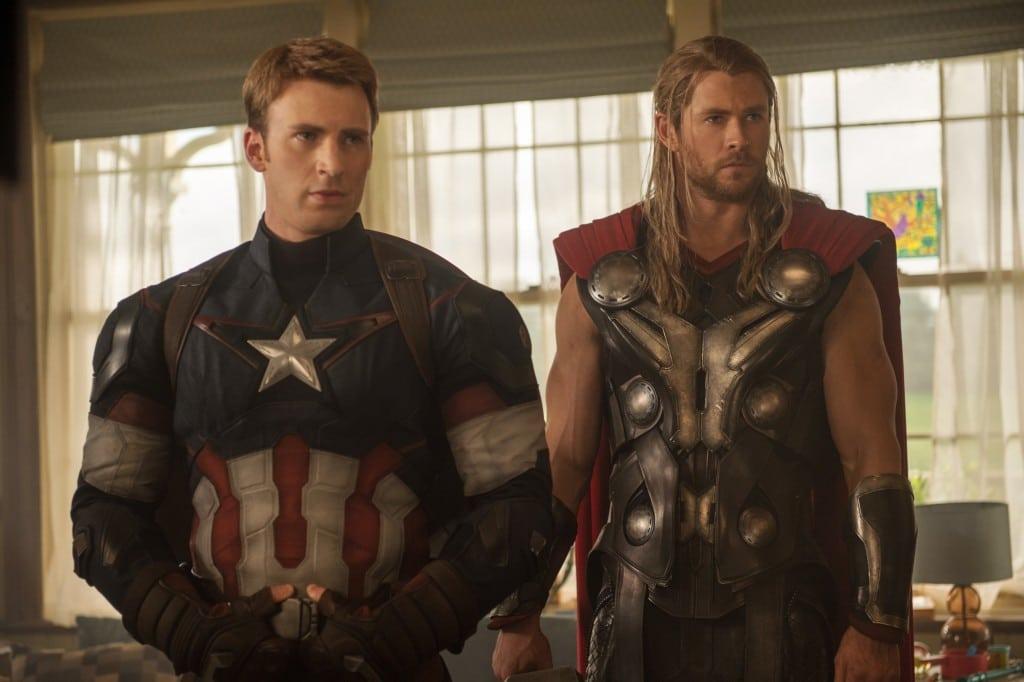 Capitão América e Thor