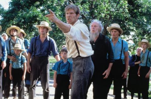 John Book torna-se um defensor da comunidade amish