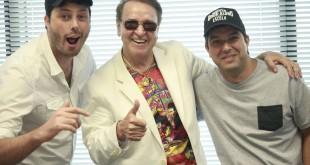 Danilo Gentili, Carlos Villagrán e Fabrícrio Bittar