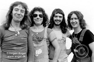 Banda Geordie projetou Brian Johnson para o AC/DC