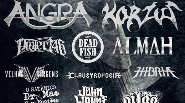 HELL IN RIO: lendas do rock/metal nacional reunidas no Terreirão do Samba