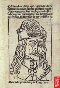 Vlad Tepes cartaz alemanha
