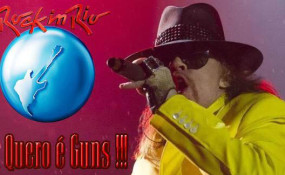 Guns N' Roses rock in rio 2013