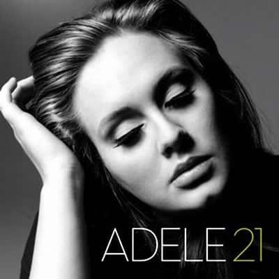 21 adele album mais vendido