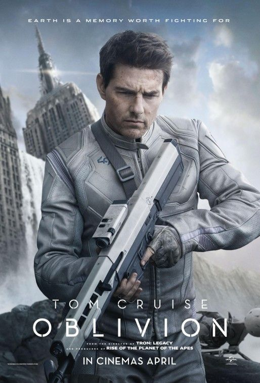 Cartaz Obilivion - Tom Cruise