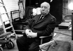 Alfred Hitchcock em Psicose