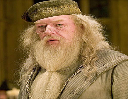 Os interpretes de Alvo Dumbledore