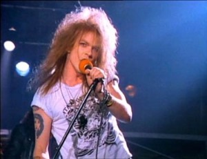Historia welcome to the jungle axl rose
