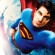 Poster de Superman Returns, como Superman o ator Brandon Routh