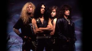 Morbid Angel com a formação clássica (Pete é o último da direita)