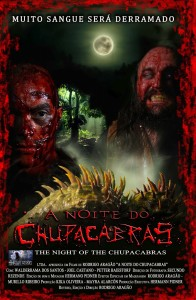 Cartaz do filme 'A Noite do Chupacabras'