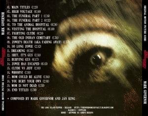 Costa da Soundtrack Original com músicas do estúdio
