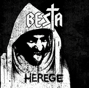"A diabólica capa do ep ""Herege""."