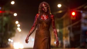 Carrie, após se divertir a valer no baile!