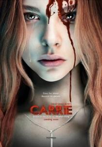 """Poster de divulgação de """"Carrie - a estranha"""""""