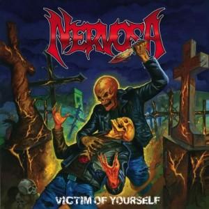 "Bela arte do novo álbum, ""Victim of Yourself"""
