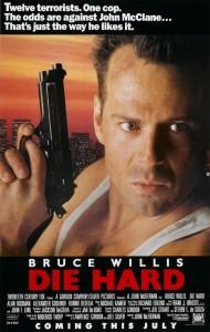 """Cartaz de divulgação de """"Duro de Matar"""" (Die Hard/88)"""