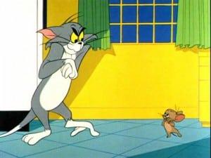 Tom e Jerry da Era Chucky Jones.