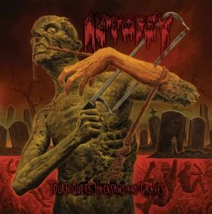 Belíssima e assustadora arte da capa do novo álbum!