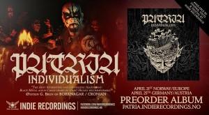 """Publicidade de divulgação  para o novo álbum """"Individualism"""""""