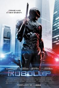 """Poster de divulgação de """"Robocop"""""""
