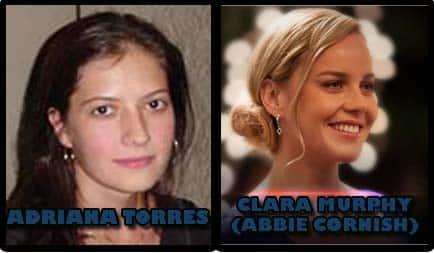Adriana Torres como clara murphy