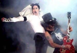 Michael Jackson e Slash
