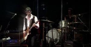 Lobão e sua potencia na guitarra