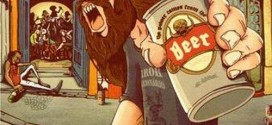 """Capa de """"The Power Comes From the Beer""""."""