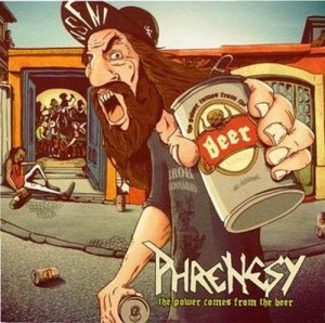 "Capa de ""The Power Comes From the Beer""."